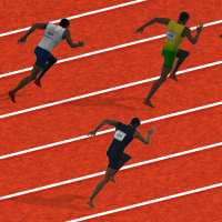 100 Meters Race Play